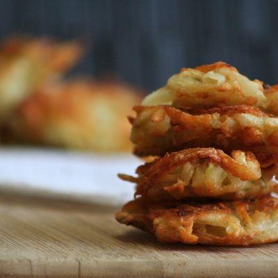 Les Latkès de pommes de terre.