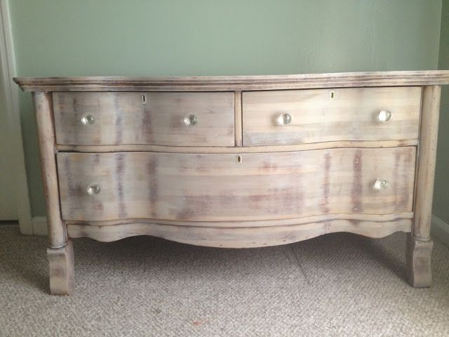 """Dwell Haven: How To: """"Gray-Wash"""" Furniture"""