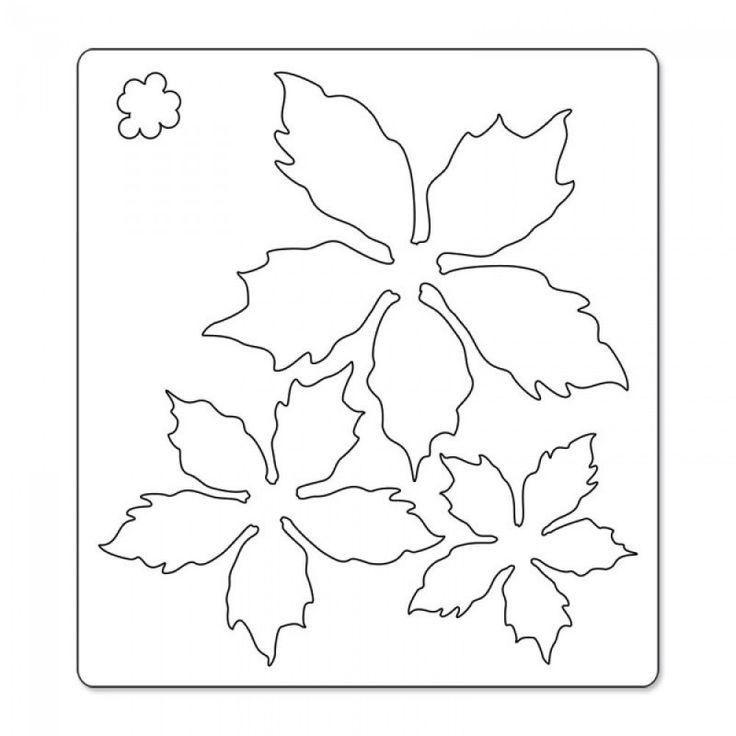 Wykrojnik Sizzix Bigz - Tattered Poinsettia