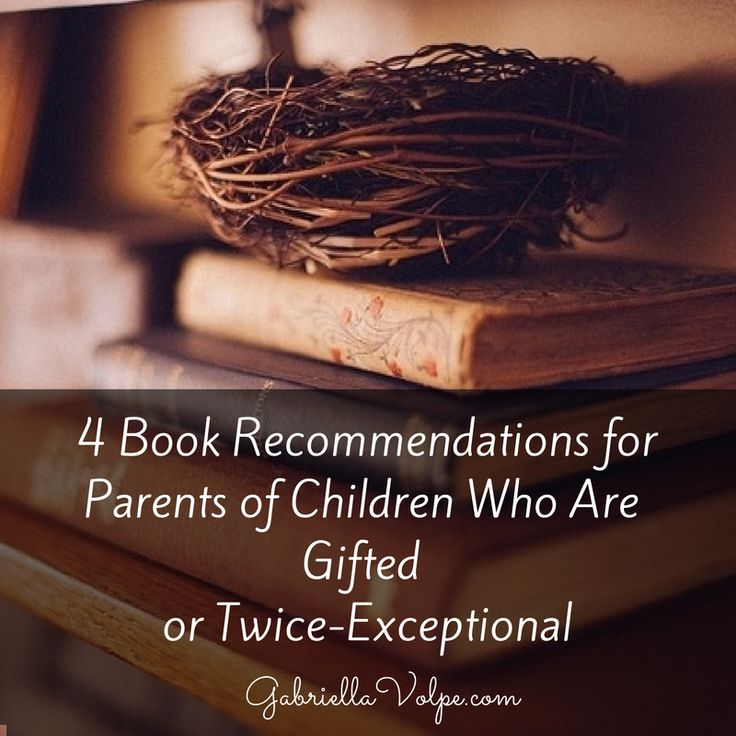 Book recommendations for parents of children who are gifted or twice-exceptional.