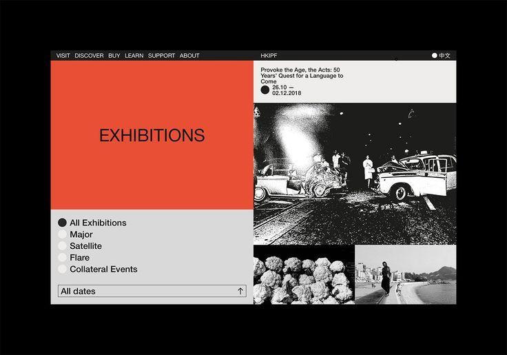 Studiowmw Hong Kong International Photo Festival Web Design Tips Web Design Web Development Design