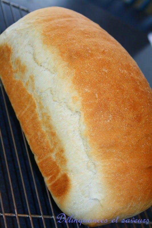 J'aime essayer de nouveaux pains et ce ne sont pas les recettes qui manquent. Celui d'aujourd'hui a une mie tendre, légèrement sucrée, il es...