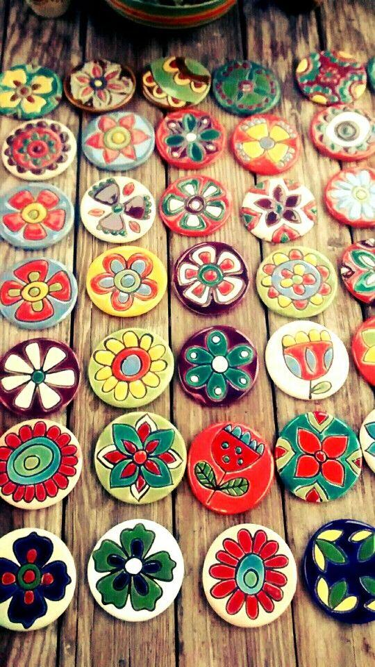 Mandalitas de ceramica