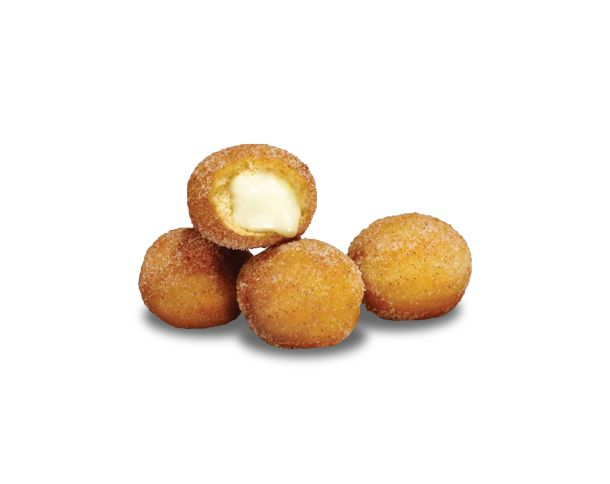 CINNABON® DELIGHTS™ are golden bite-sized pastries filled with warm Cinnabon® frosting, dusted with the famous Cinnabon® Makara® cinnamon su...
