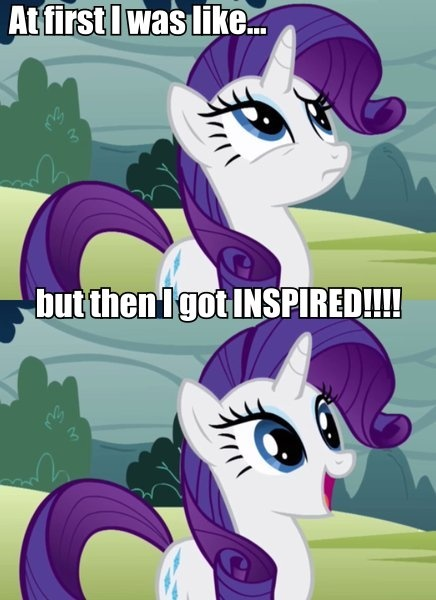 Oh I know the feels Rarity!