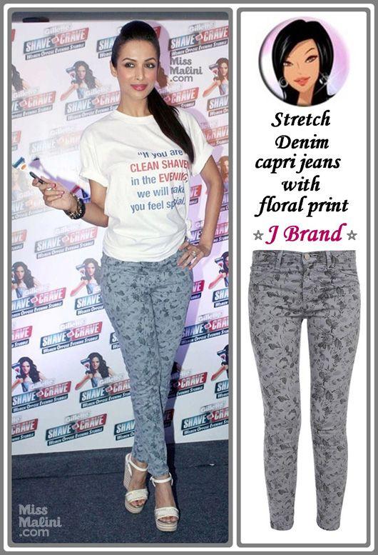 Malaika Arora in J Brand Jeans