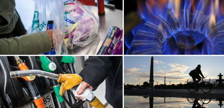 Prime d'activité, tarifs du gaz... ce qui change au 1er janvier en France - L'interdiction des sacs plastiques à usage unique dans les supermarchés, la baisse des tarifs réglementés du gaz, la hausse des taxes sur les carburants et l'indemnité kilométrique vélo: ce qui doit changer en 2016 AFP