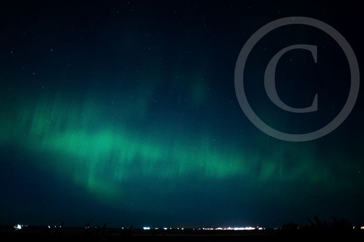 Northern Lights from our Yard