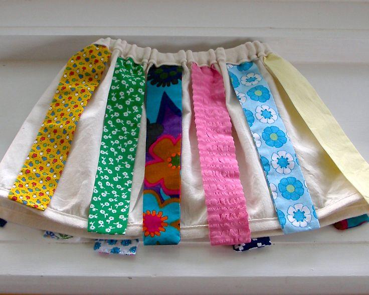 multi coloured dress up skirt