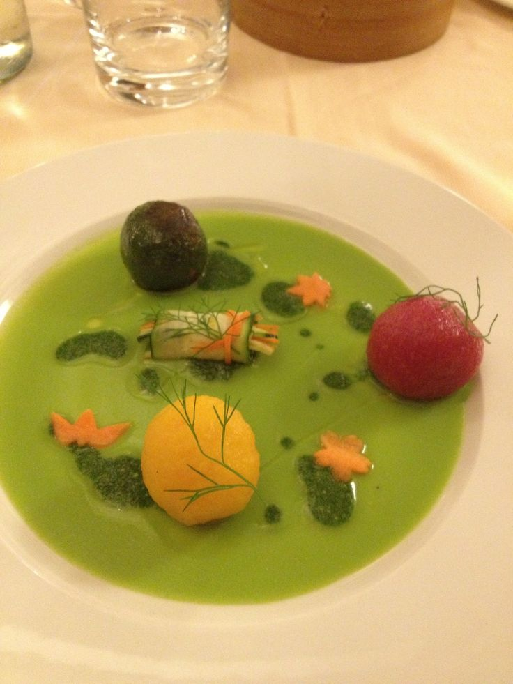 FOOD FOR THOUGHT - the only Michelin starred veggie restaurant in Europe: Joia !