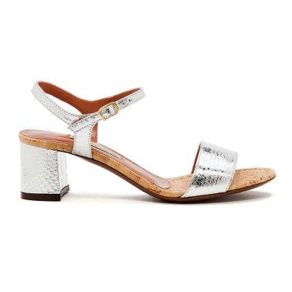 silver #sandals #l'autrechoice #summer2014