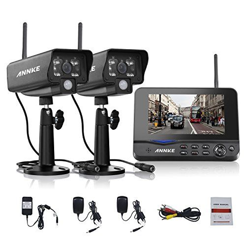 Special Offers - Annke Digital Wireless 4CH DVR Security System with 7 Inch LCD Monitor SD Card Recording and 2 Long Range Night Vision Cameras - In stock & Free Shipping. You can save more money! Check It (January 10 2017 at 11:32PM) >> http://motionsensorusa.net/annke-digital-wireless-4ch-dvr-security-system-with-7-inch-lcd-monitor-sd-card-recording-and-2-long-range-night-vision-cameras/