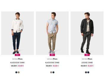 Tom Tailor: 20 Prozent Rabatt auf Hosen und Jeans https://www.discountfan.de/artikel/klamotten_&_schuhe/tom-tailor-20-prozent-rabatt-auf-hosen-und-jeans.php Ab sofort gibt es bei Tom Tailor für drei Tage einen Rabatt von 20 Prozent auf alle Hosen und Jeans. Der Preisabschlag gilt auch auf bereits reduzierte Artikel. Tom Tailor: 20 Prozent Rabatt auf Hosen und Jeans (Bild: Tom-Tailor.de) Um an den Rabatt von 20 Prozent auf Hosen und Jeans bei Tom... #Hosen, #Jeans