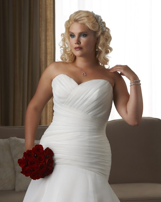 27 best plus size wedding dresses images on pinterest | hairstyle