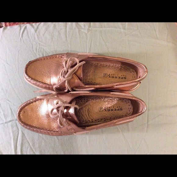 Sperry topsiders on sale $65 Never worn Sperry Shoes