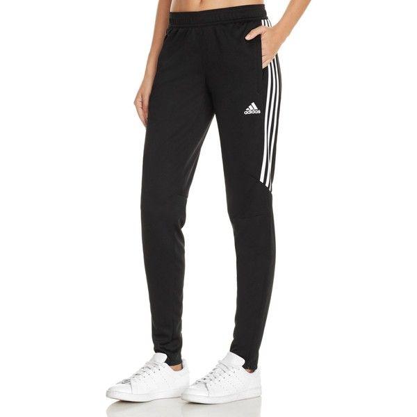 Adidas Tiro 17 Jogger Pants (900 MXN) ❤ liked on Polyvore featuring activewear, activewear pants, black, adidas, adidas sportswear, adidas activewear and logo sportswear