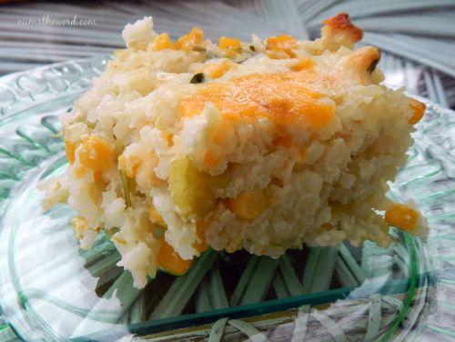Mexican Sour Cream Rice - NumsTheWord: Cream Rice, Sour Cream ...