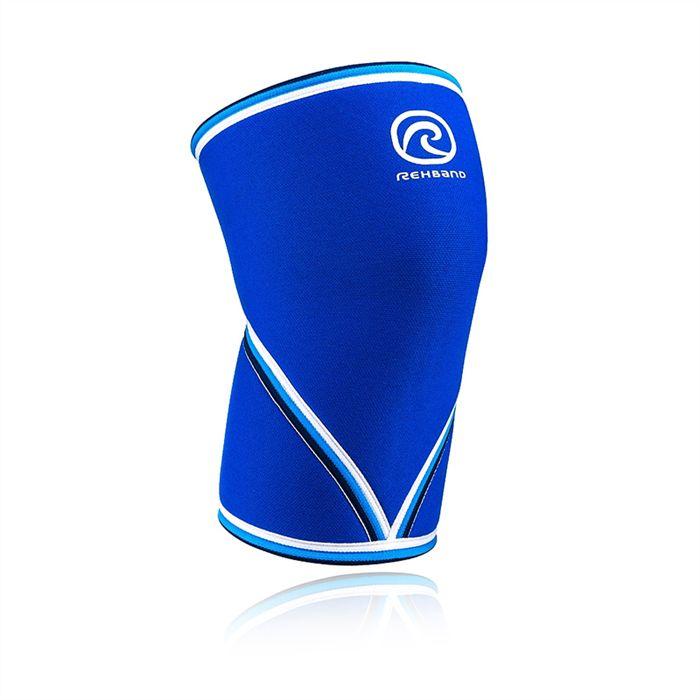 Rehband 7mm Original Knee Sleeves - Blue/Single
