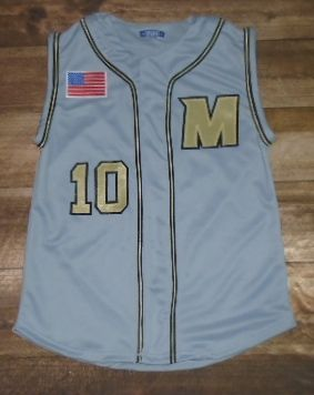 Check out these custom jerseys designed by Mavericks Baseball and created at Play It Again Sports in Columbia, MO! http://www.garbathletics.com/blog/mavericks-baseball-custom-jerseys-2/ Create your own custom uniforms at www.garbathletics.com!