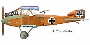 Albatros C.X. - 1917