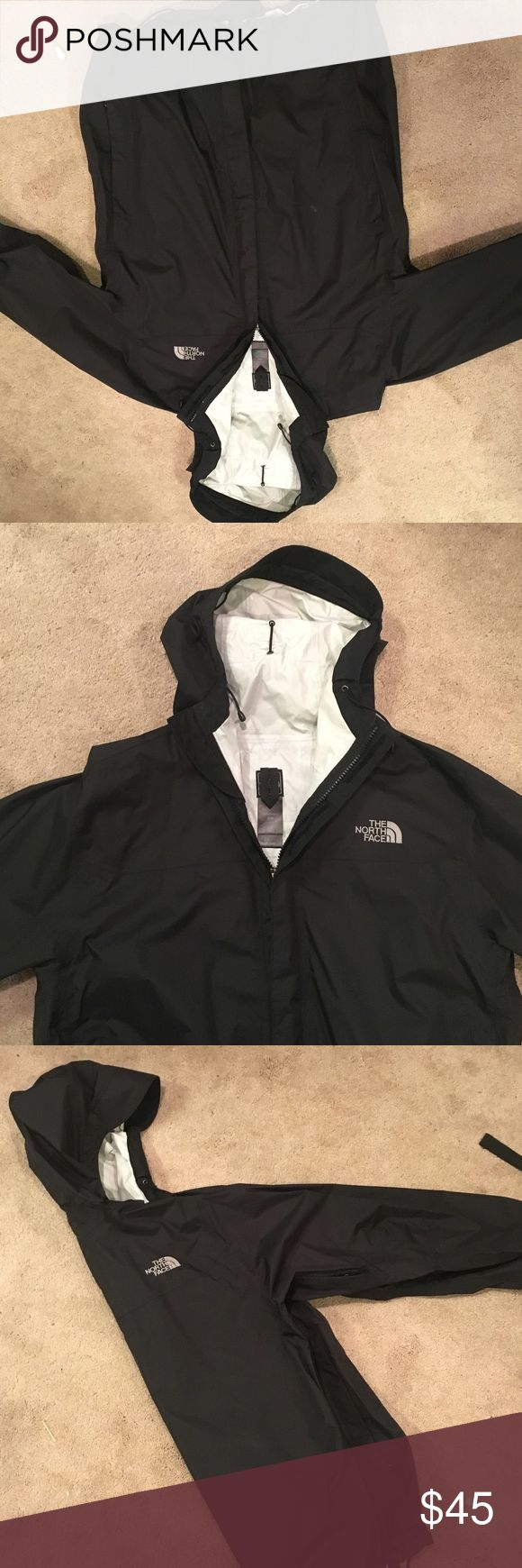Men's north face windbreaker My boyfriend got this jacket and took the tags off, but he didn't like the way it fit him so he never wore it - it was a bit baggy. Perfect condition and only worn a few times The North Face Jackets & Coats