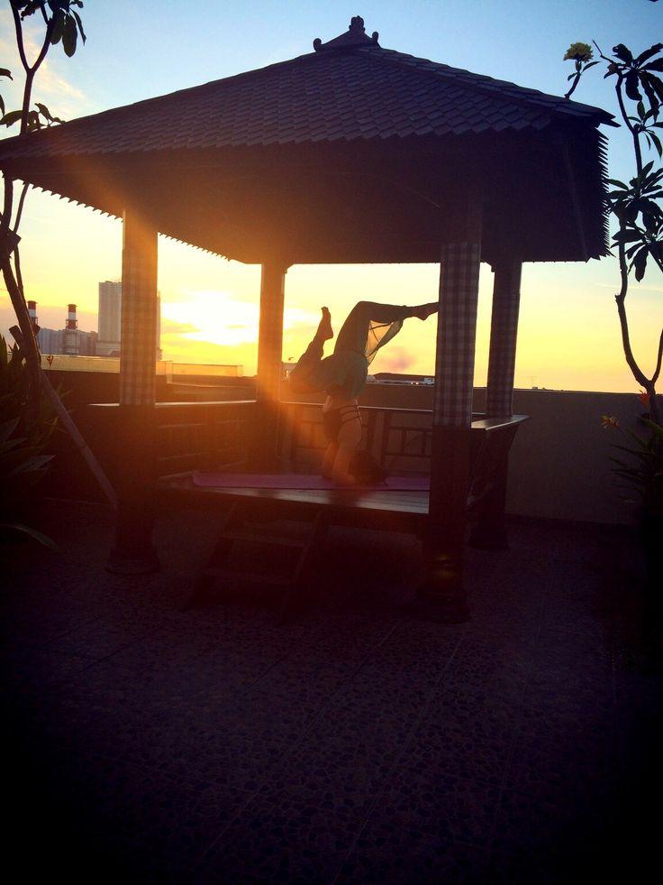 Sunset namate @ my gazebo