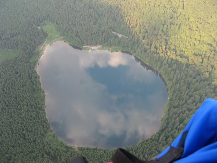 Saint Ana lake from above