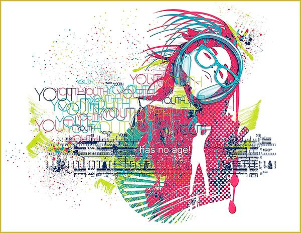 Youth is a modern urban style Wall art layout that I (Margje) made with:  Electric Youth {Artsy bits & Pieces No1}   Electric Youth {Artsy bits & Pieces No2}   Electric Youth {Colored Splats}   Electric Youth {Paint-Brushes}   Electric Youth {Painters-Toolbox: Graphic-Brushes}   Electric Youth {Real Drips}   Electric Youth {Word Arts}   All NBK Design