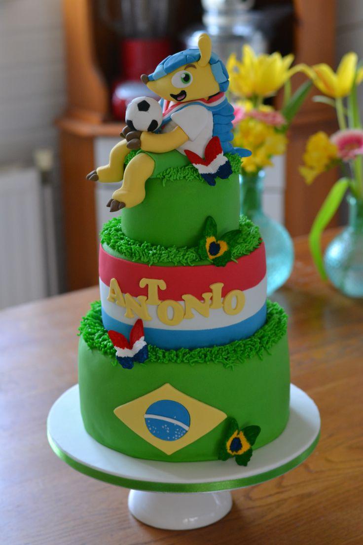 Cake Decorating Utensils Uk : 16 best World Cup Cake Ideas images on Pinterest Soccer ...