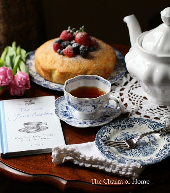 I'm in love with Sherry's tea time posts with their stunning photography. In this post she does a round up of her 12 favorites. Don't miss them at The Charm of Home!