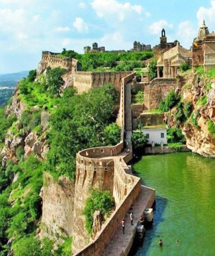 Chittorgarh Fort, Rajasthan, India; about 2 hours from Udaipur