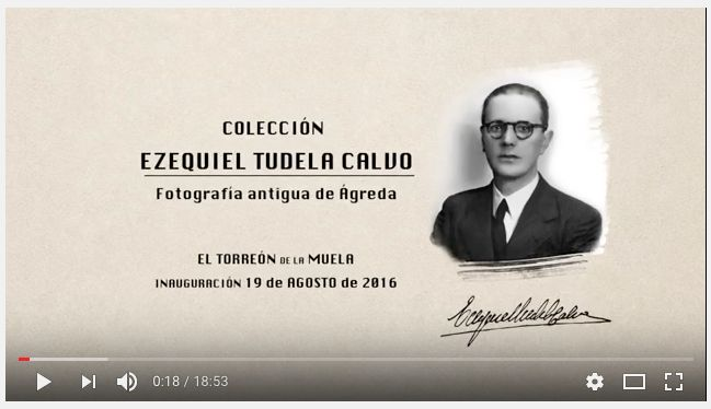 Enlace al audiovisual (vídeo) para la exposición de la colección Ezequiel Tudela Calvo...  https://youtu.be/2pI2u4U0WV4                                      Old photo.