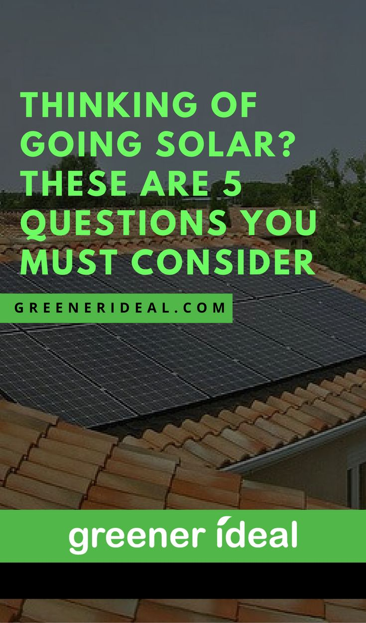 The popularity about going solar often creates a misconception amongst home owners as to the true benefits of installing solar panels at their home. If you are considering a solar panels investment for your home, there are certain key factors to consider before taking a final decision.