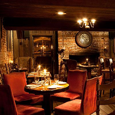 Olde Pink House Evening Sit in the piano bar downstairs to get the local Savannah flavor (she-crab soup, shrimp and grits) without the fine...