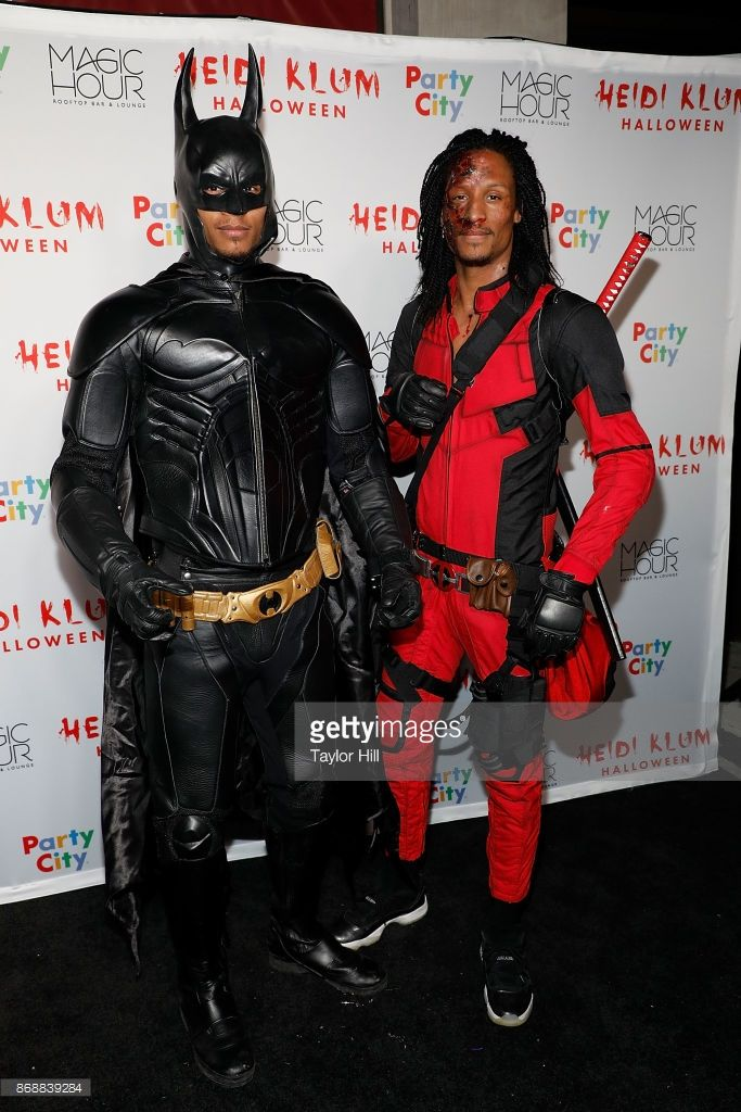 Les Twins attend Heidi Klum's 18th annual Halloween Party presented by Party City at the Magic Hour Rooftop Bar & Lounge on October 31, 2017 in New York City.