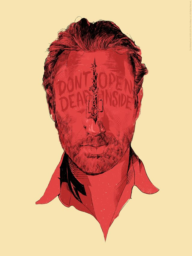 Oliver Barrett The Walking Dead