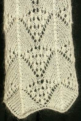 Free Knitting Patterns For Lace Yarn : Crystal Palace Yarns - free knit pattern Lace Scarf - Madeira Cascade - knit ...
