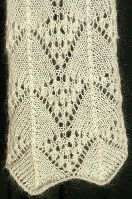 Madeira Lace Knitting Pattern : Crystal Palace Yarns - free knit pattern Lace Scarf ...