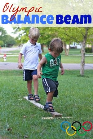 Make your own mini olympics! Get your kids outside and active before today's 2012 Olympic opening ceremony!