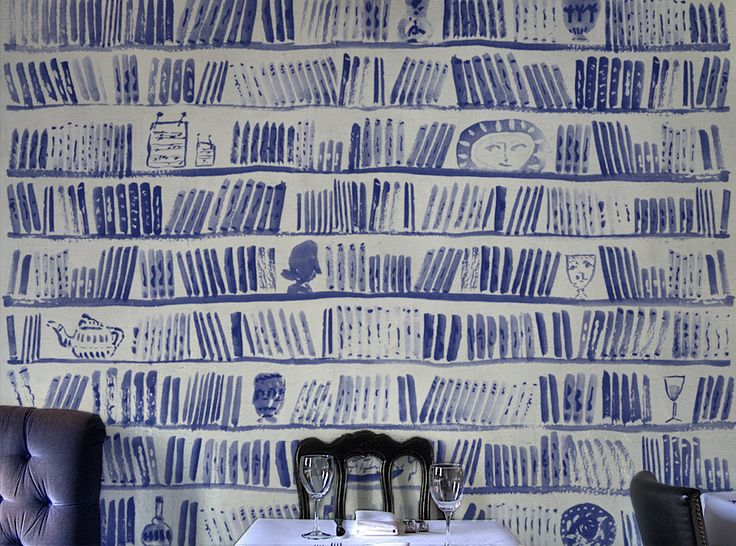 Bobo Wallpaper by Schwartz & Sons (featuring Bella Foster):