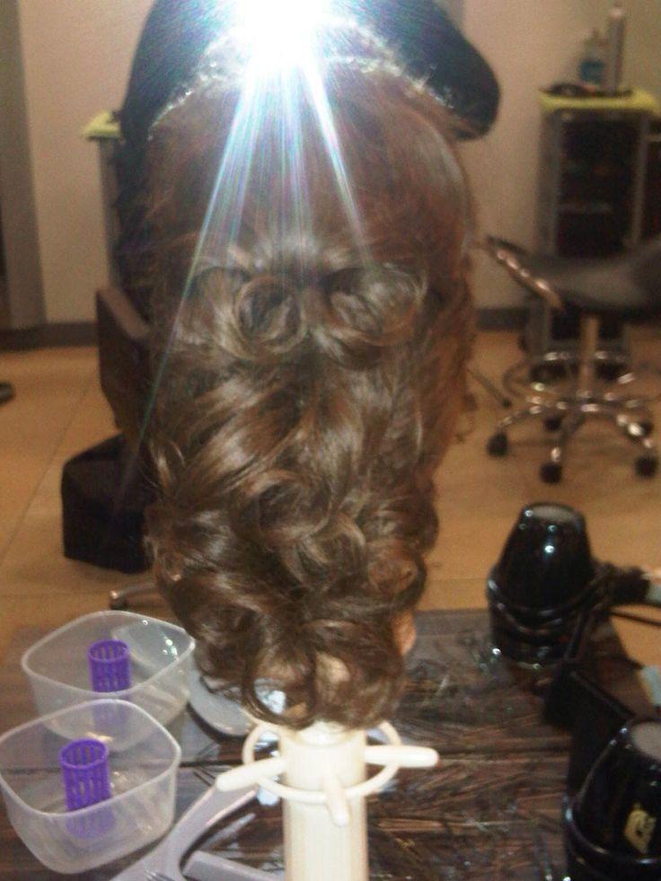 Elegant hair up