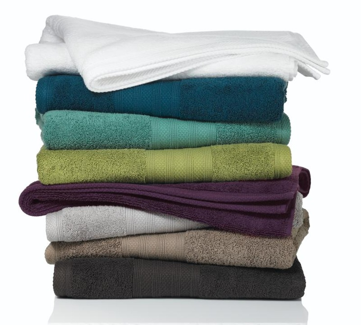 Wamsutta Towels - love the colors!