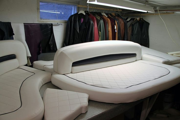 re-upholstery work, Sunseeker 44