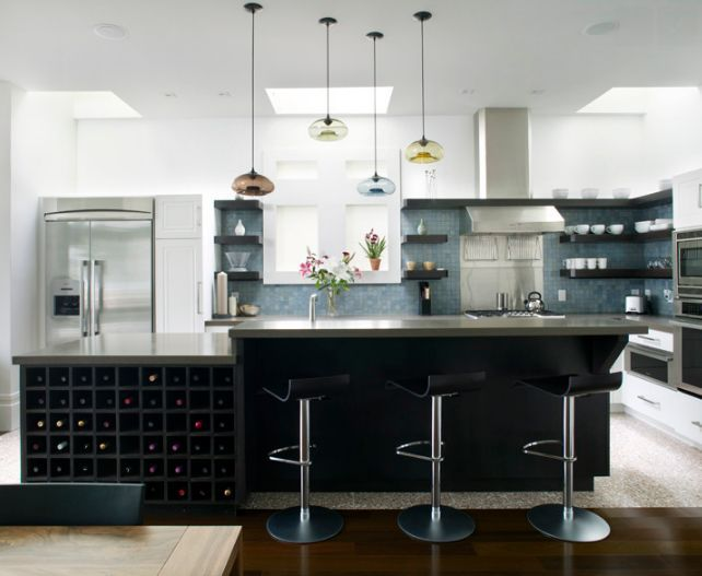 Contemporary Kitchen Pendant Lights For A Fashionable Appeal | 2014 interior design article