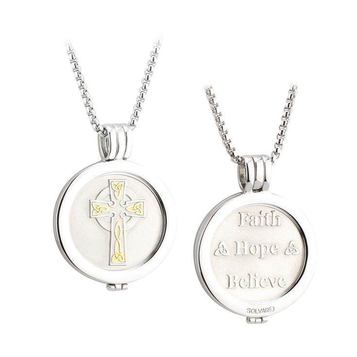 may the road rise to meet you necklace chains