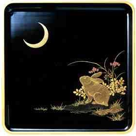 Japanese rabbit laquer box