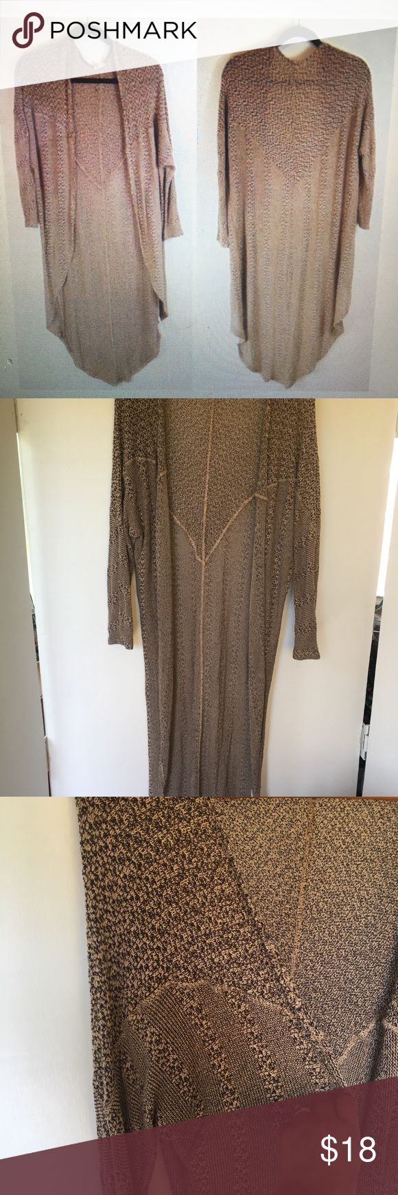 Ecote Long Open Cardigan from Urban Outfitters Med Super cute and light weight  … – My Posh Picks