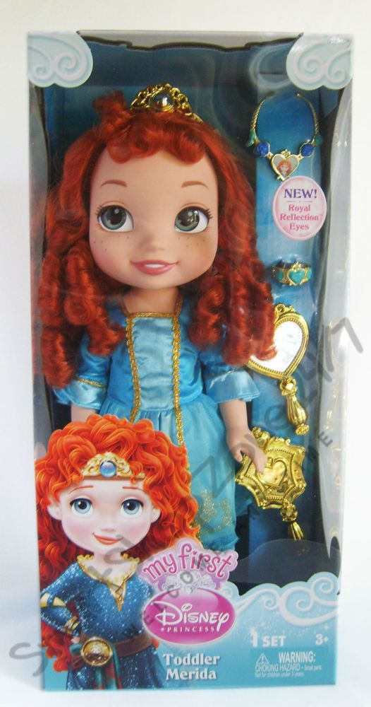 My First Disney Princess Toddler Merida Doll NEW
