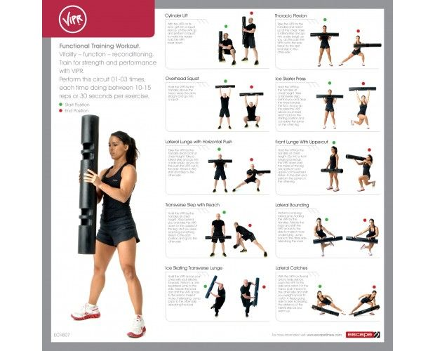 Vipr Exercise Poster Fitness Vipr Exercises Sandbag
