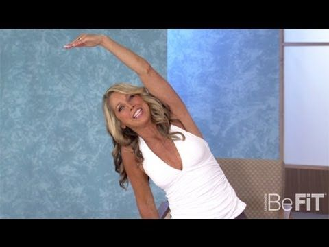 Denise Austin: Upper Body Stretch- Office Workout. 3 minutes